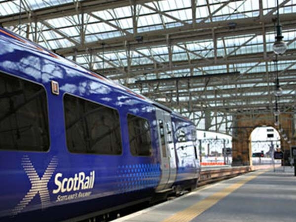 paisley corridor - scot rail train